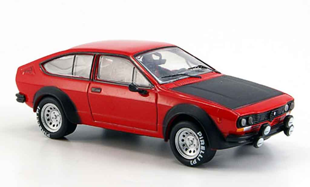 Alfa Romeo GT 2.0 1/43 M4 V 2.0 turbodelta red 1976 diecast model cars