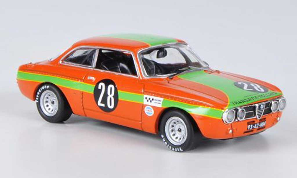 Alfa Romeo Giulia GT Am 1/43 M4 Zandvoort Slotemaker 1970
