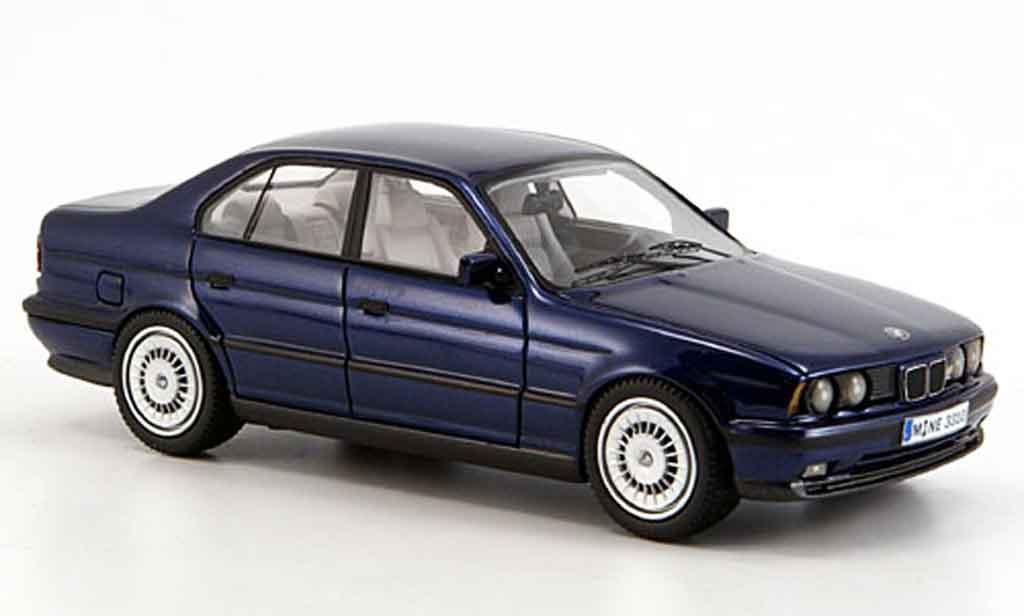 Bmw M5 E34 1/43 Neo bleu 1994 diecast model cars