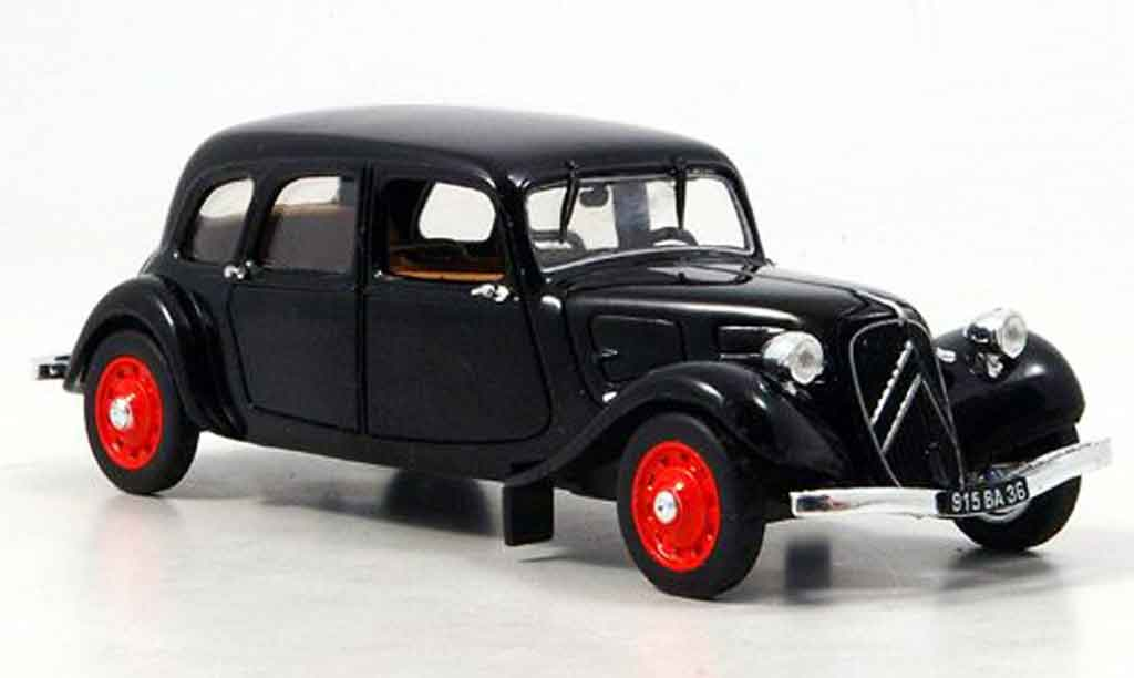 Citroen Traction 11 1/43 Eagle b familiale noire 1938 miniature