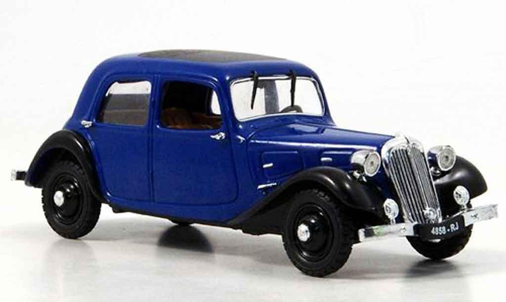 Citroen Traction 7 1/43 Eagle a bleu black 1934 diecast