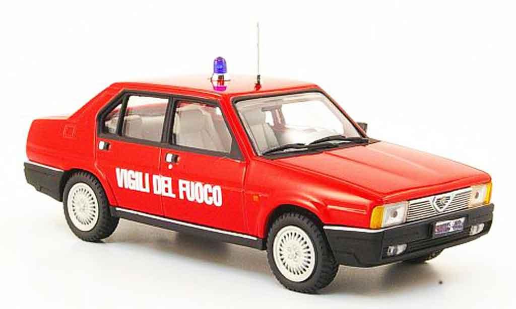 Alfa Romeo 90 1/43 Pego super vigili del fuoco 1984 diecast