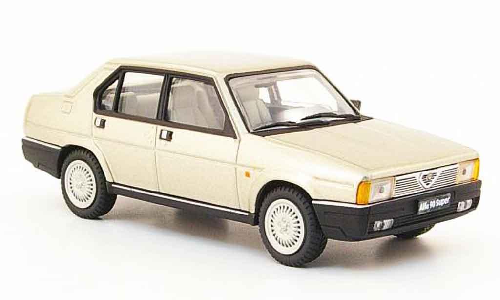 Alfa Romeo 90 1/43 Pego super beige 1984 diecast