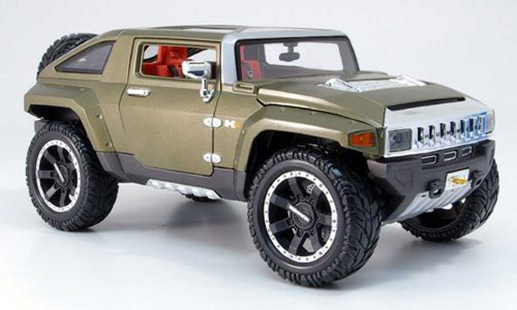 Hummer HX 1/18 Maisto vert 2008 miniature