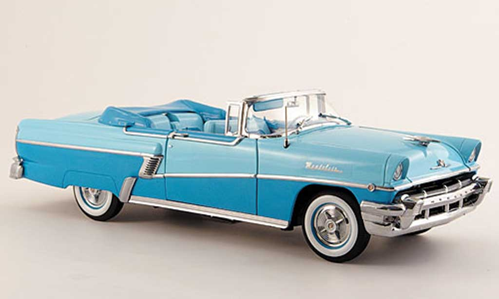 Mercury Montclair 1/18 Sun Star convertible bleu turkis 1956 miniature