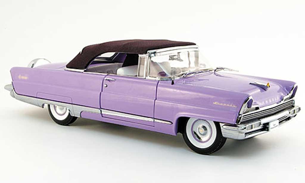 Lincoln Premiere 1/18 Sun Star convertible flieder 1956 miniature