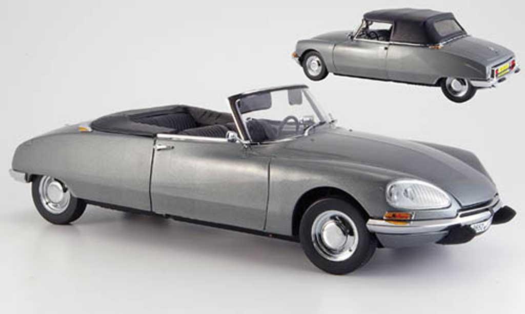 Citroen DS 21 1/18 Sun Star cabriolet gray 1962 diecast