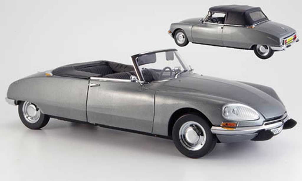 Citroen DS 21 1/18 Sun Star cabriolet grise 1962 miniature