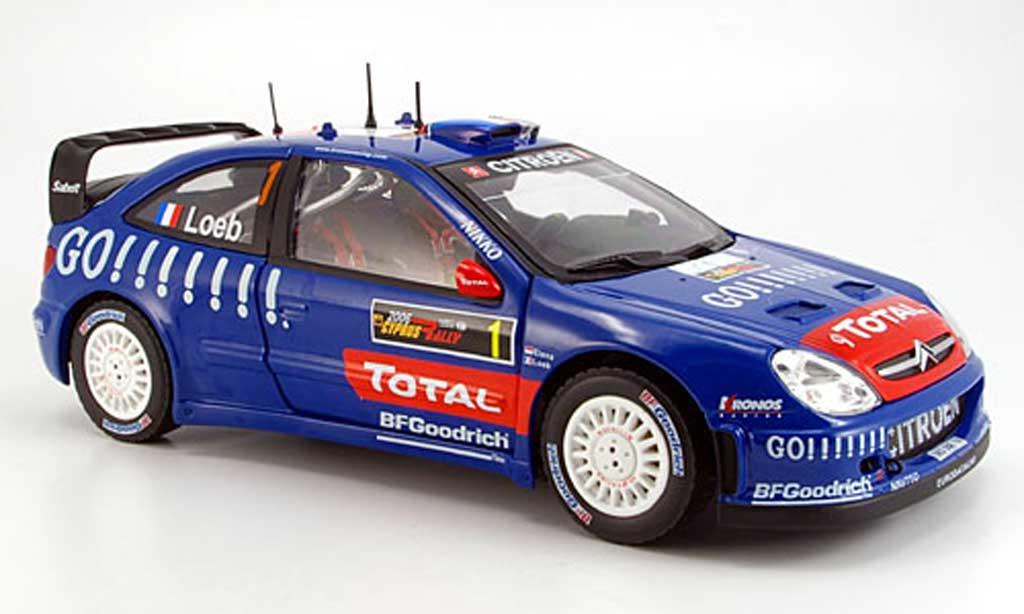 Citroen Xsara WRC 2006 1/18 Sun Star no.1 total chypre rallye miniature