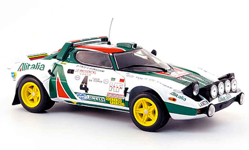 Lancia Stratos 1/18 Sun Star no. 4 zweiter platz tour de corse 1977 diecast model cars