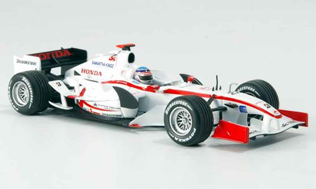 Honda F1 1/43 Minichamps Super Aguri SA05 SA T. Sato GP Bahrain 2006 miniature