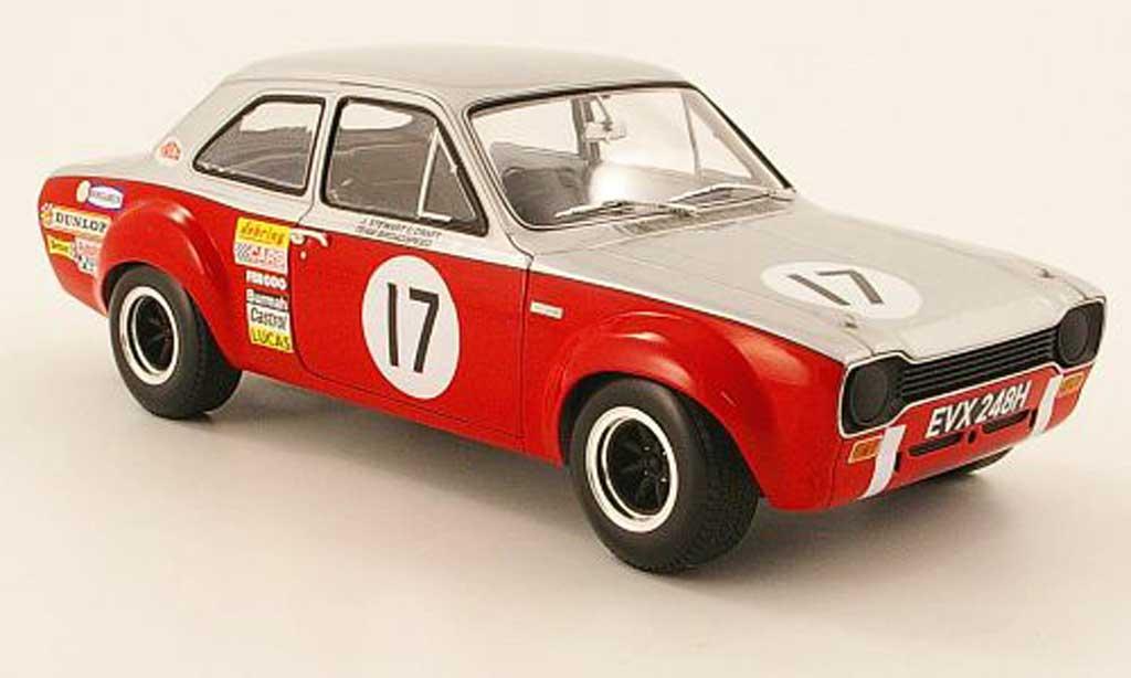 Ford Escort MK1 1/18 Minichamps tc no.17 xxxv rac tt grisestone 1970 miniature