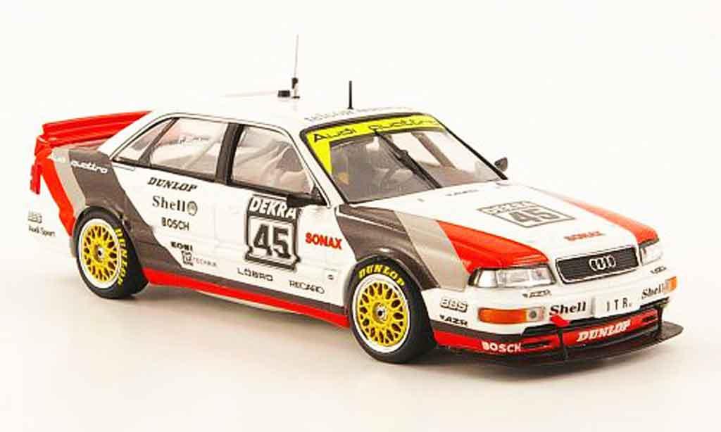 Audi V8 Quattro 1/43 Minichamps No.45 F.Biela Team AZR DTM 1991 diecast