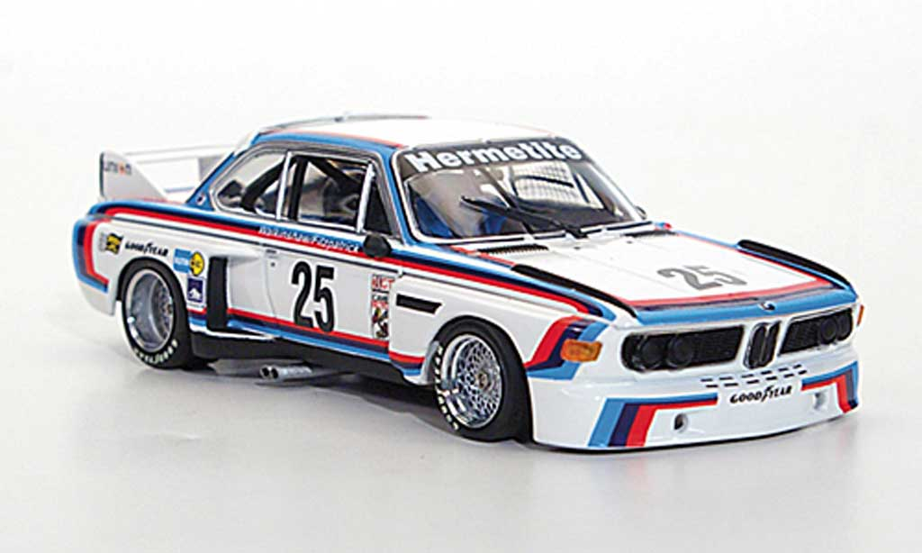 Bmw 3.5 CSL 1/43 Minichamps CSL IMSA No.25 Walkinshaw/Fitzpatrick 24H Daytona 1976 miniature