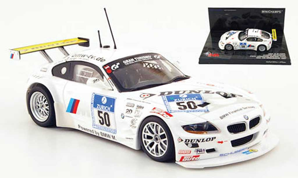 Bmw Z4 E85 1/43 Minichamps M Coupe No.50 Schubert Racing 24h ADAC 2007 diecast