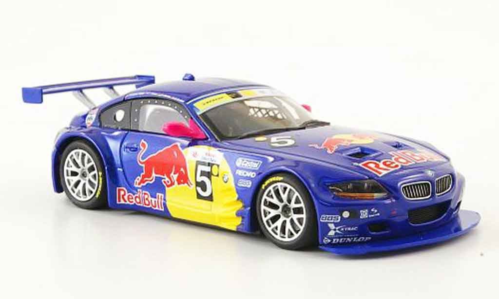 Bmw Z4 E85 1/43 Minichamps M Coupe No.5 Red Bull 24h Silverstone 2006