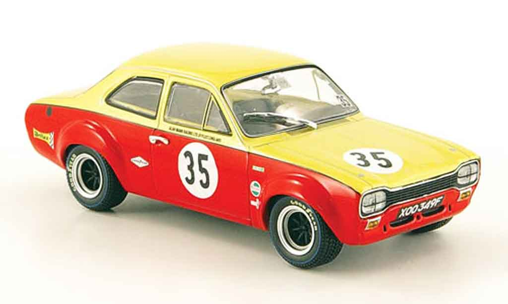 Ford Escort MK1 1/43 Minichamps I TC No.35 Alan Mann Racing Nurburgring 1968 miniature