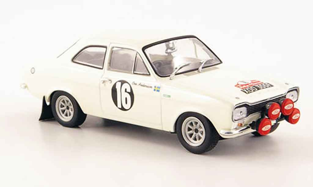 Ford Escort MK1 1/43 Minichamps TC 1600 No.16 Rally San Remo 1968 miniature