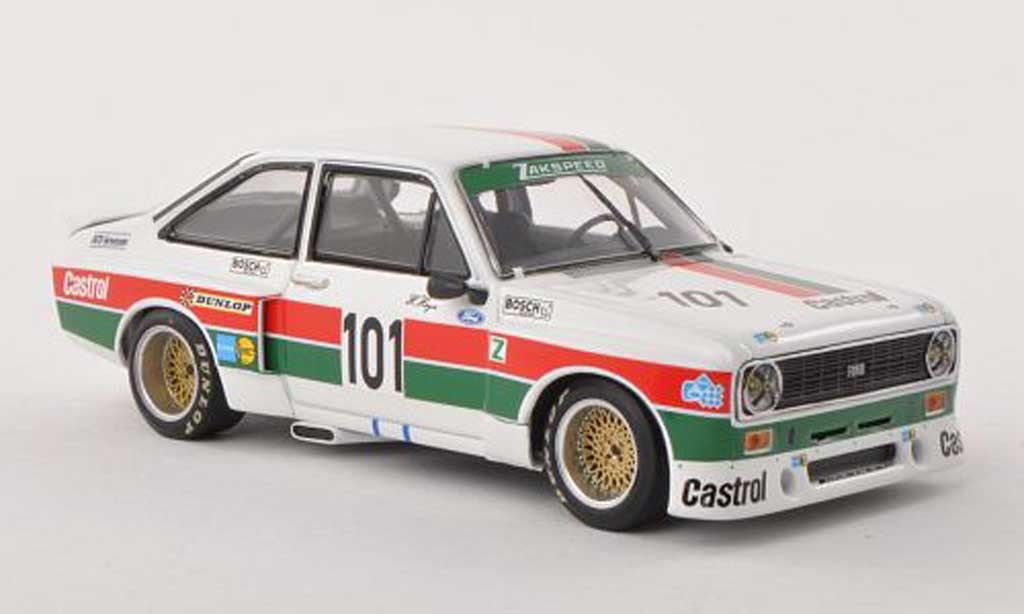 Ford Escort RS 1800 1/43 Minichamps RS 1800 MkII No.101 Castrol DRM Hockenheim 1975 H.Heyer diecast model cars