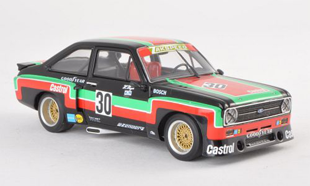 Ford Escort RS 1800 1/43 Minichamps RS 1800 MKII No.30 Castrol DRM Mainz-Finthen 1976 H.Heyer miniature