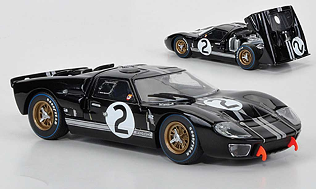 Ford GT 40 1/43 Minichamps MKII No.2 McLaren/Amon 24h Le Mans 1966 miniature