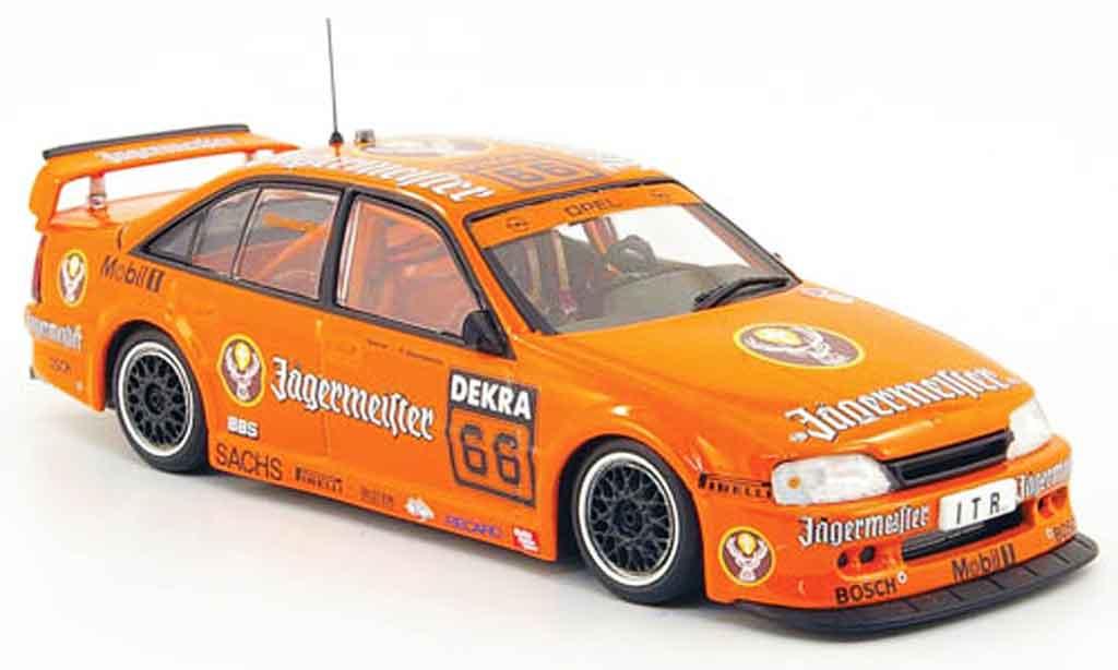 Opel Omega 1/43 Minichamps 3000 24v no.66 jagermeister dtm 1991 miniature