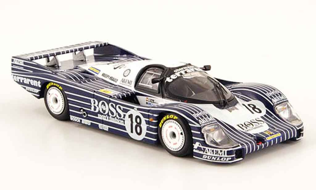 Porsche 956 1983 1/43 Minichamps L No.18 Boss Obermaier Racing 24h Le Mans miniature