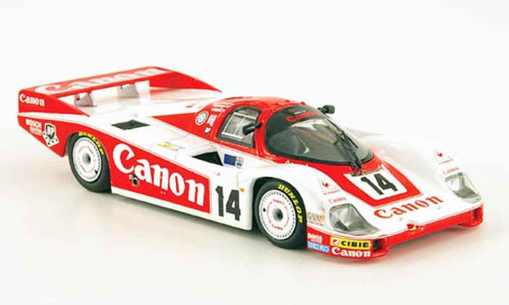 Porsche 956 1983 1/43 Minichamps L No.1 Canon 24h Le Mans miniature