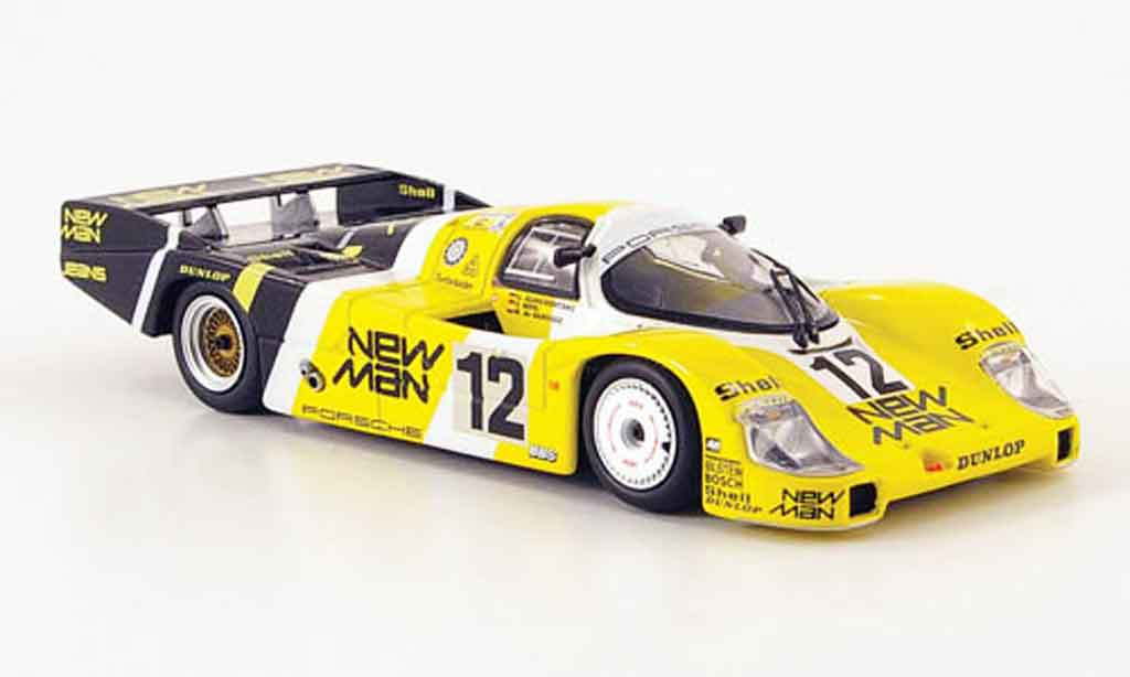 Porsche 956 1983 1/43 Minichamps L No.12 New Man Joest Racing 24H Le Mans modellautos