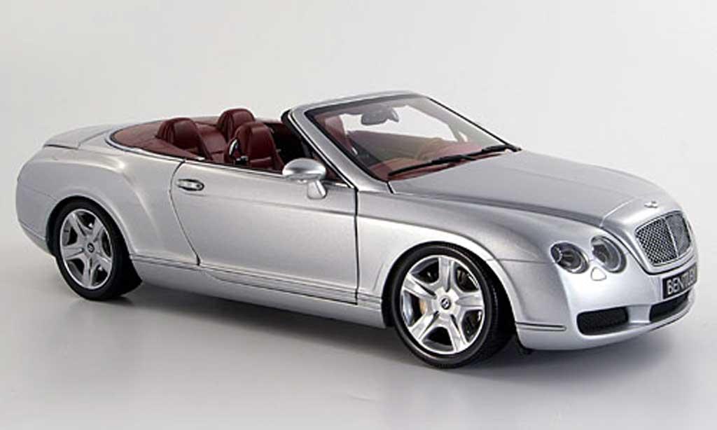 Bentley Continental GTC 1/18 Minichamps grise 2006 miniature