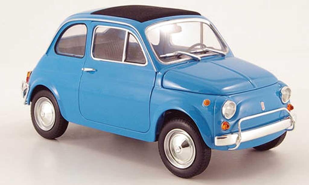 Fiat 500 L 1/18 Minichamps bleu 1968 diecast model cars