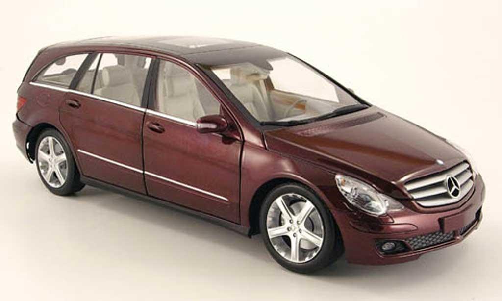 Mercedes Classe R 1/18 Minichamps rouge 2005 miniature