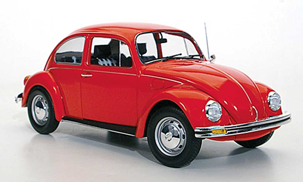Volkswagen Kafer 1/18 Minichamps 1200 rouge 1983 miniature