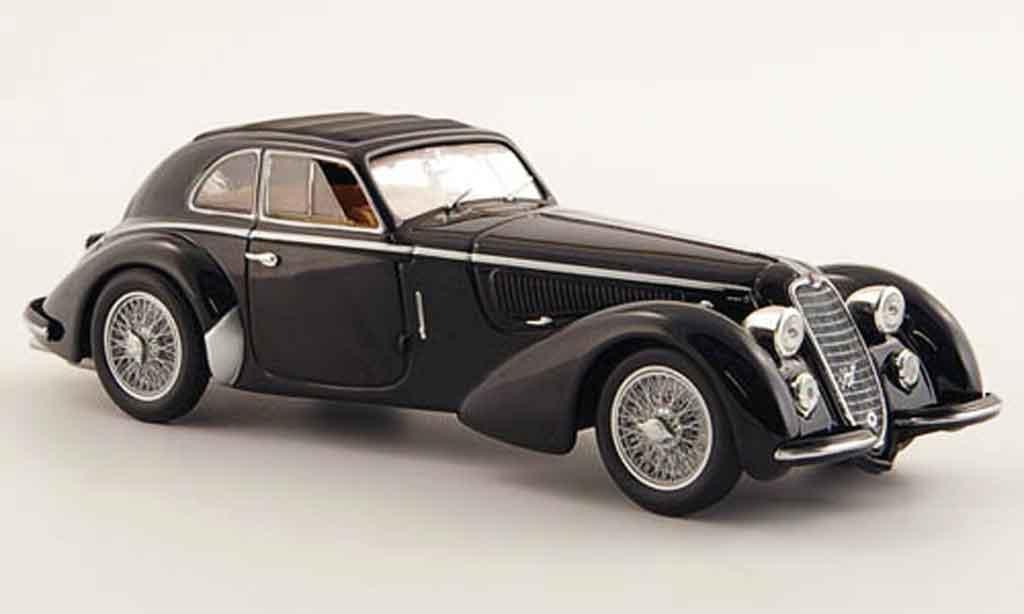 Alfa Romeo 8C 2900 1/43 Minichamps b lungo black 1938 diecast