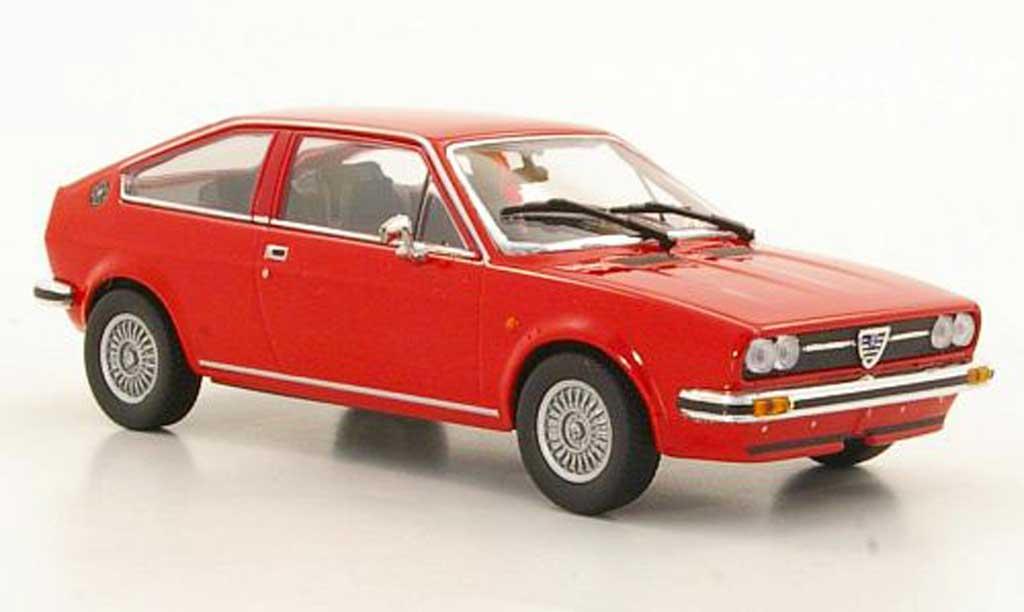 Alfa Romeo Alfasud 1/43 Minichamps Sprint red 1976 diecast model cars