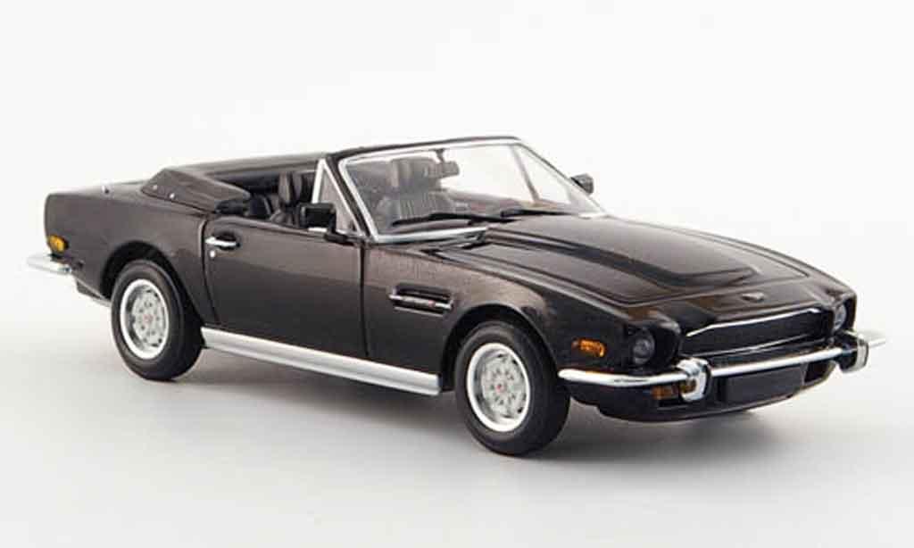 Aston Martin V8 Volante 1/43 Minichamps black 1987 diecast