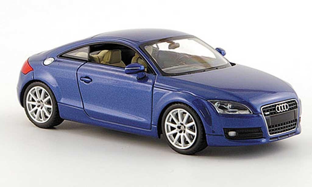 Audi TT 1/43 Minichamps bleu-met. 2006 miniature