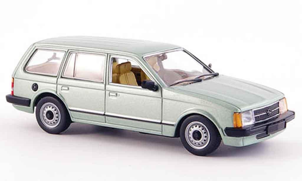 Opel Kadett D 1/43 Minichamps caravan verte 1979 miniature