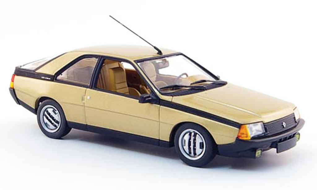 Renault Fuego 1/43 Minichamps or 1983 miniature