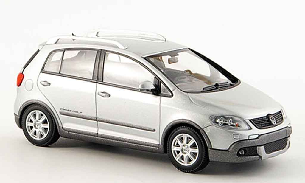 Volkswagen Golf V 1/43 Minichamps cross grise metallisee 2006 miniature