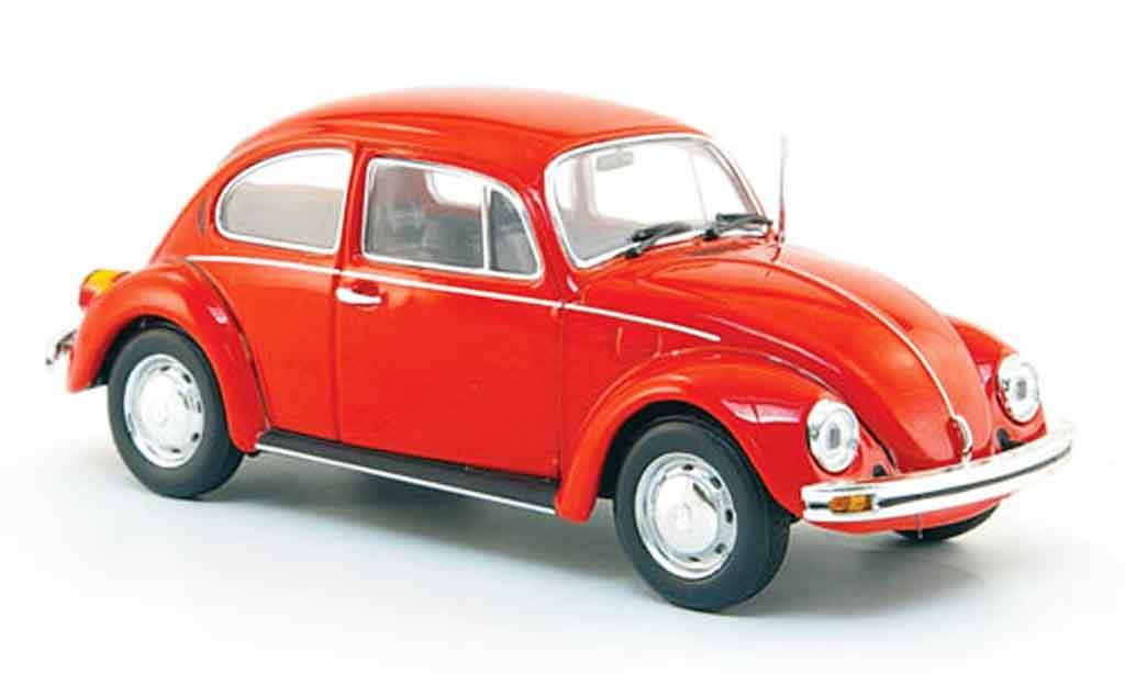 Volkswagen Coccinelle 1/43 Minichamps 1200 rouge 1983 miniature