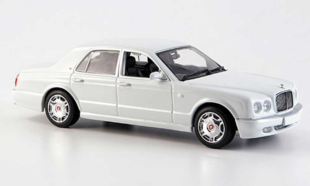 Bentley Arnage 1/43 Minichamps R bianca 2005 miniatura