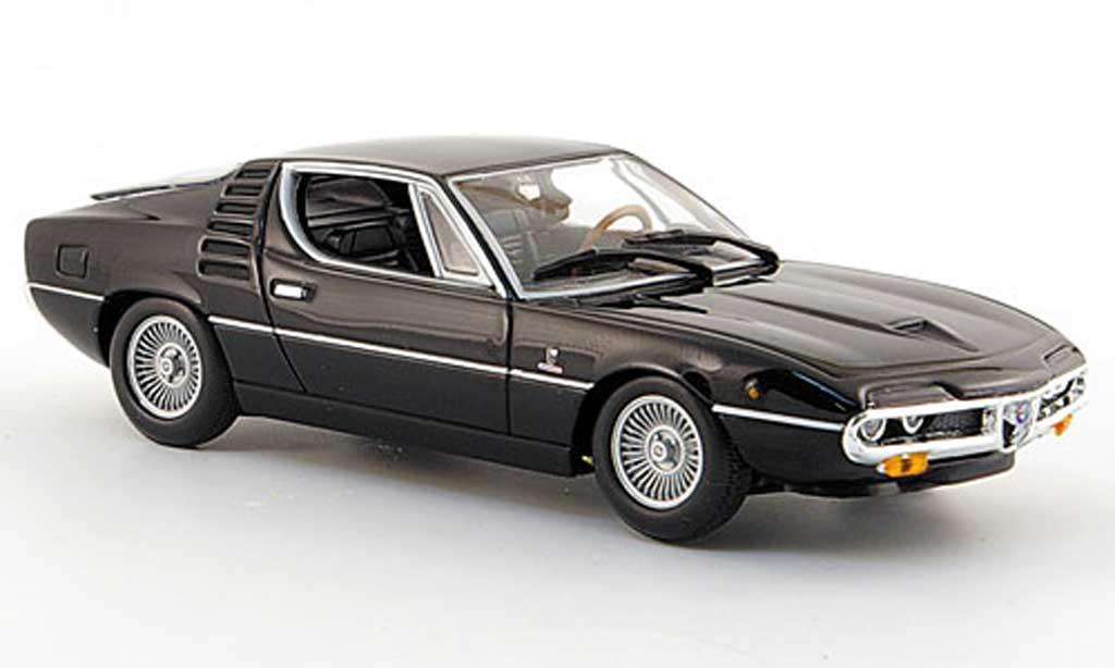 Alfa Romeo Montreal 1/43 Minichamps noire 1972 miniature
