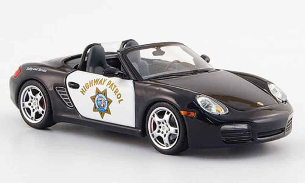 Porsche Boxster 1/43 Minichamps S Highway Patrol 2005 miniature