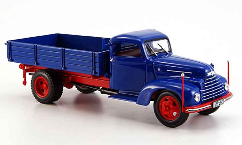 Ford FK 3500 1/43 Minichamps Kipper bleu rouge 1951 miniature