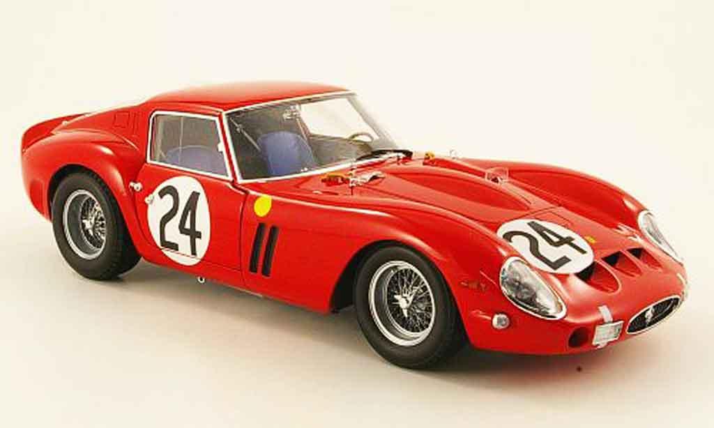Ferrari 250 GTO 1963 1/18 Kyosho no.24 24h le mans modellautos