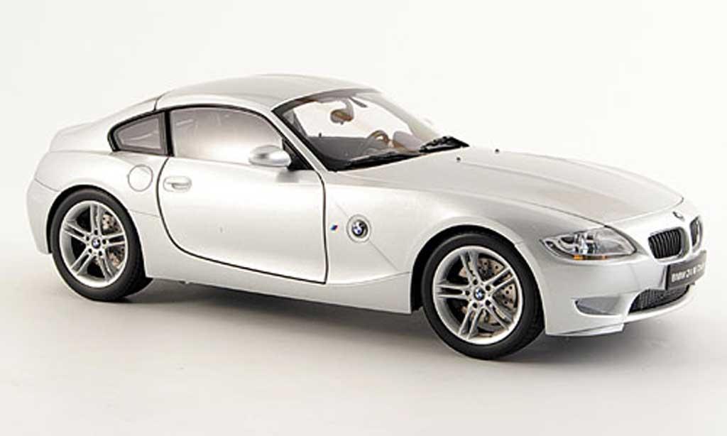 Bmw Z4 E86 1/18 Kyosho M coupe grise miniature