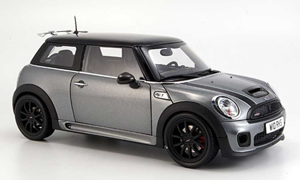 Mini Cooper JCW 1/18 Kyosho r56 grise miniature