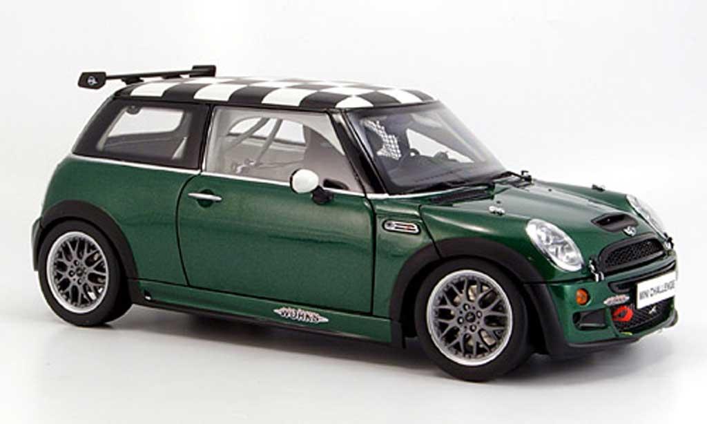 Mini Cooper JCW 1/18 Kyosho challenge grun modellautos