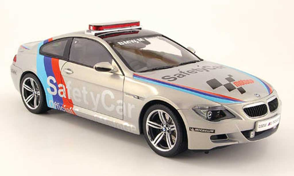 Bmw M6 E63 1/18 Kyosho safety car motogp 2007 modellino in miniatura